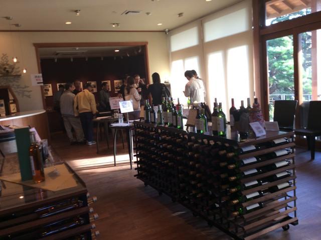 ルミエールワインのショップ
