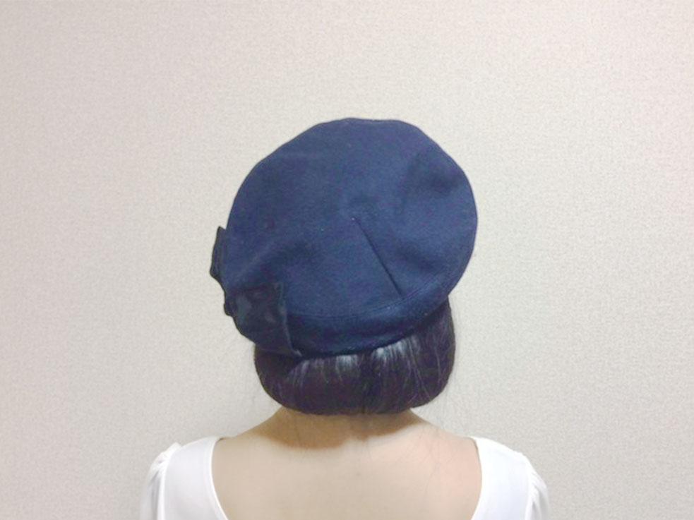 オススメはベレー帽!!帽子をかぶって、さらにかわいく!