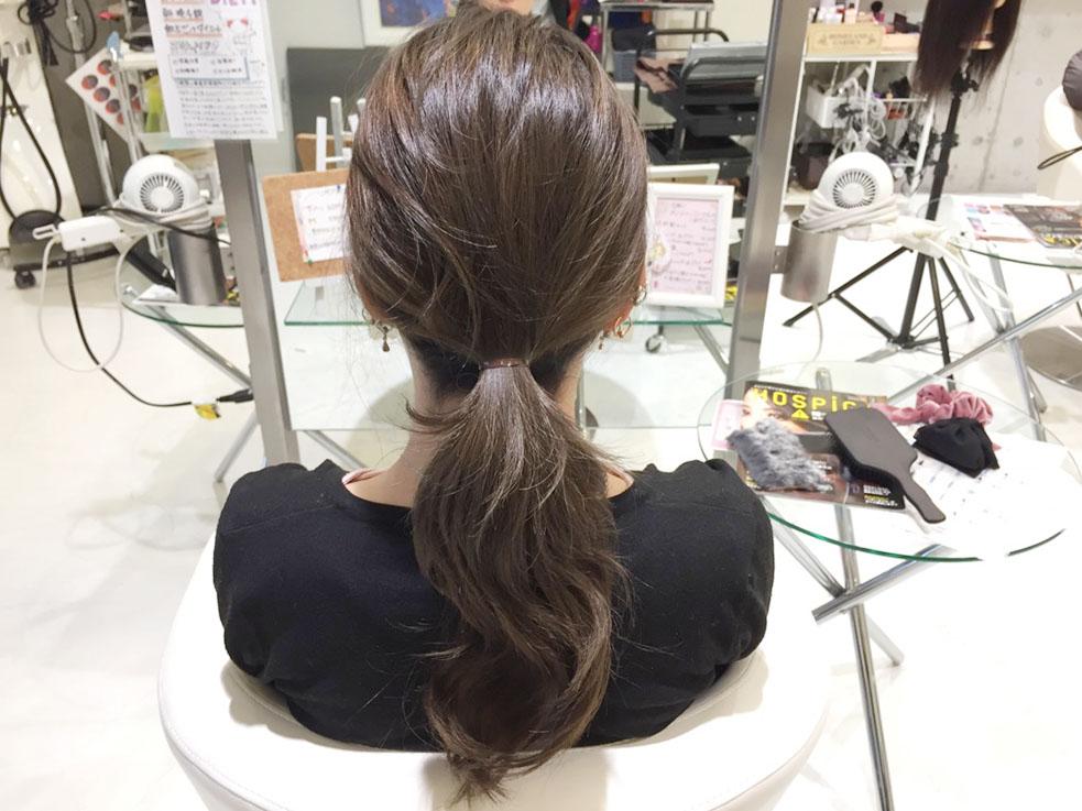 くるりんぱチャームのヘアアレンジレシピ