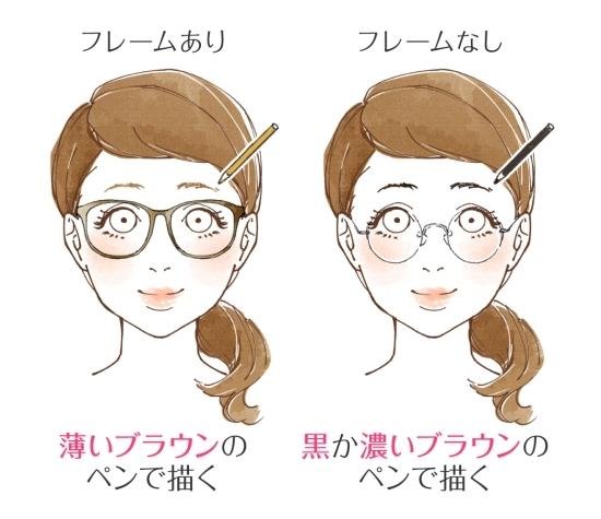 7897ca07138998 メガネ女子さんにはどんなメイクが似合うの? ♡メガネの魅力をアピール ...