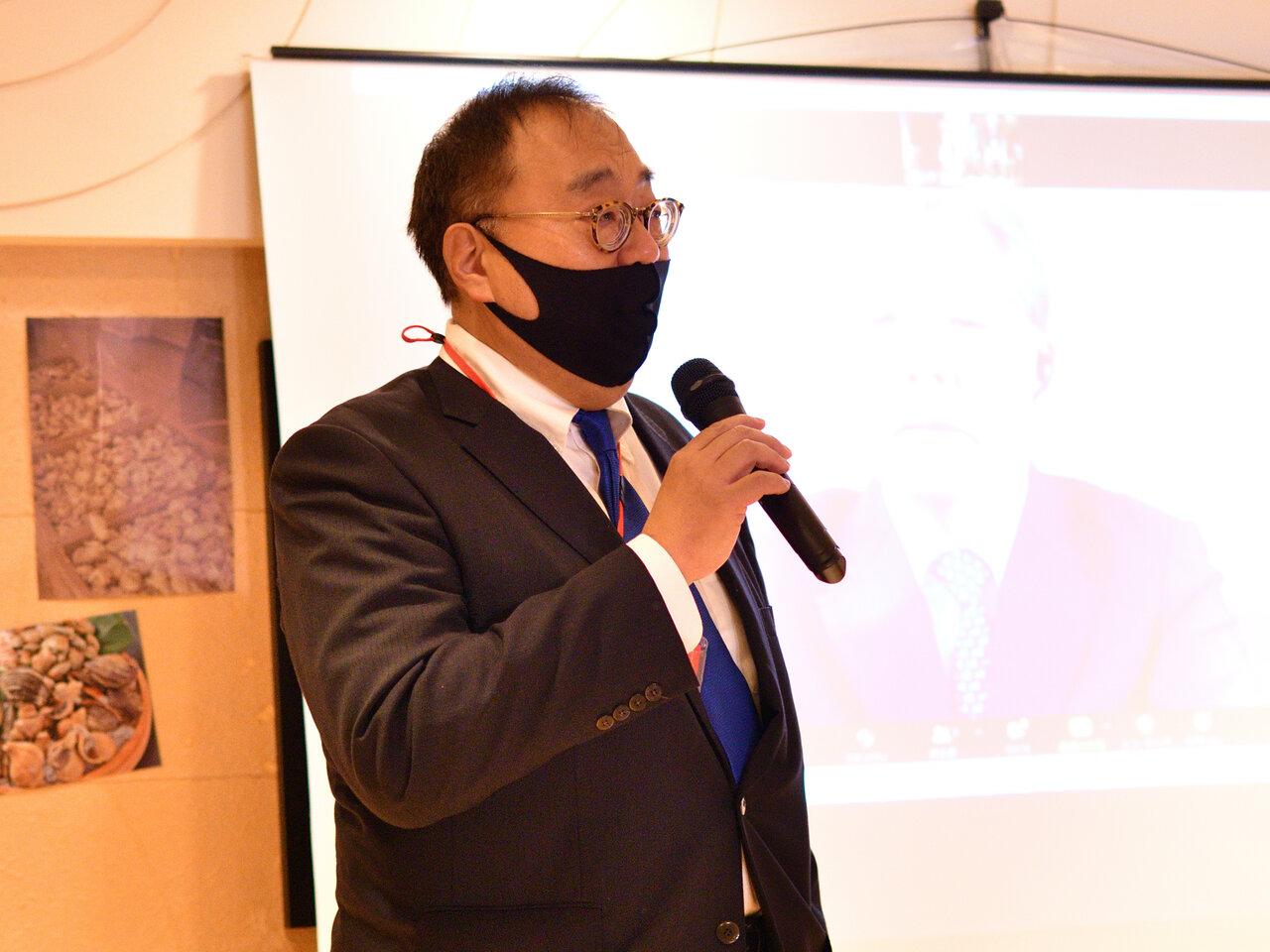 一般社団法人レジリエンスジャパン推進協議会常務理事 金谷年展 様