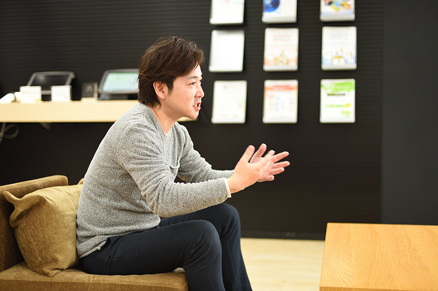 「Innovation LAB」のプロジェクトリーダーである庄司洋一郎氏