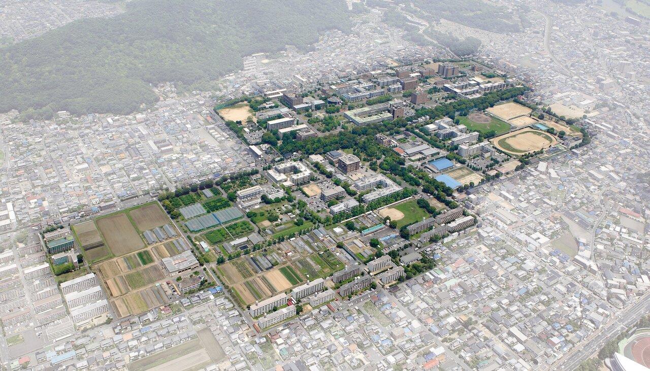 岡山大学大学院教育学研究科・教育学部が所在する岡山大学津島キャンパス(岡山市北区)