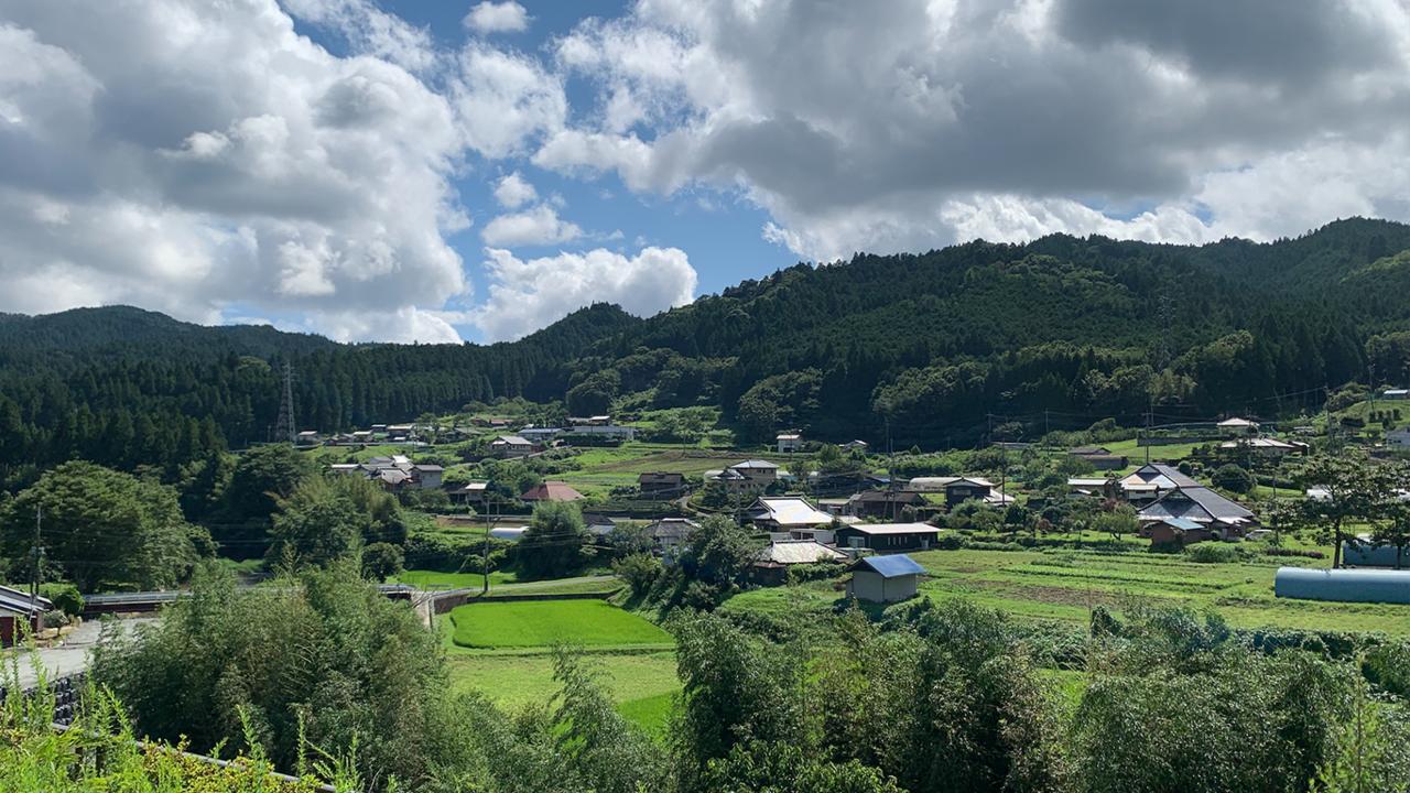 里美地区の風景