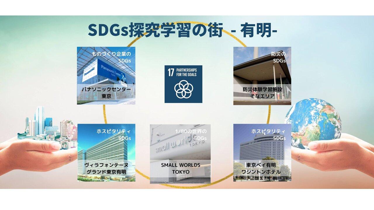 SDGs探究学習の街 - 有明