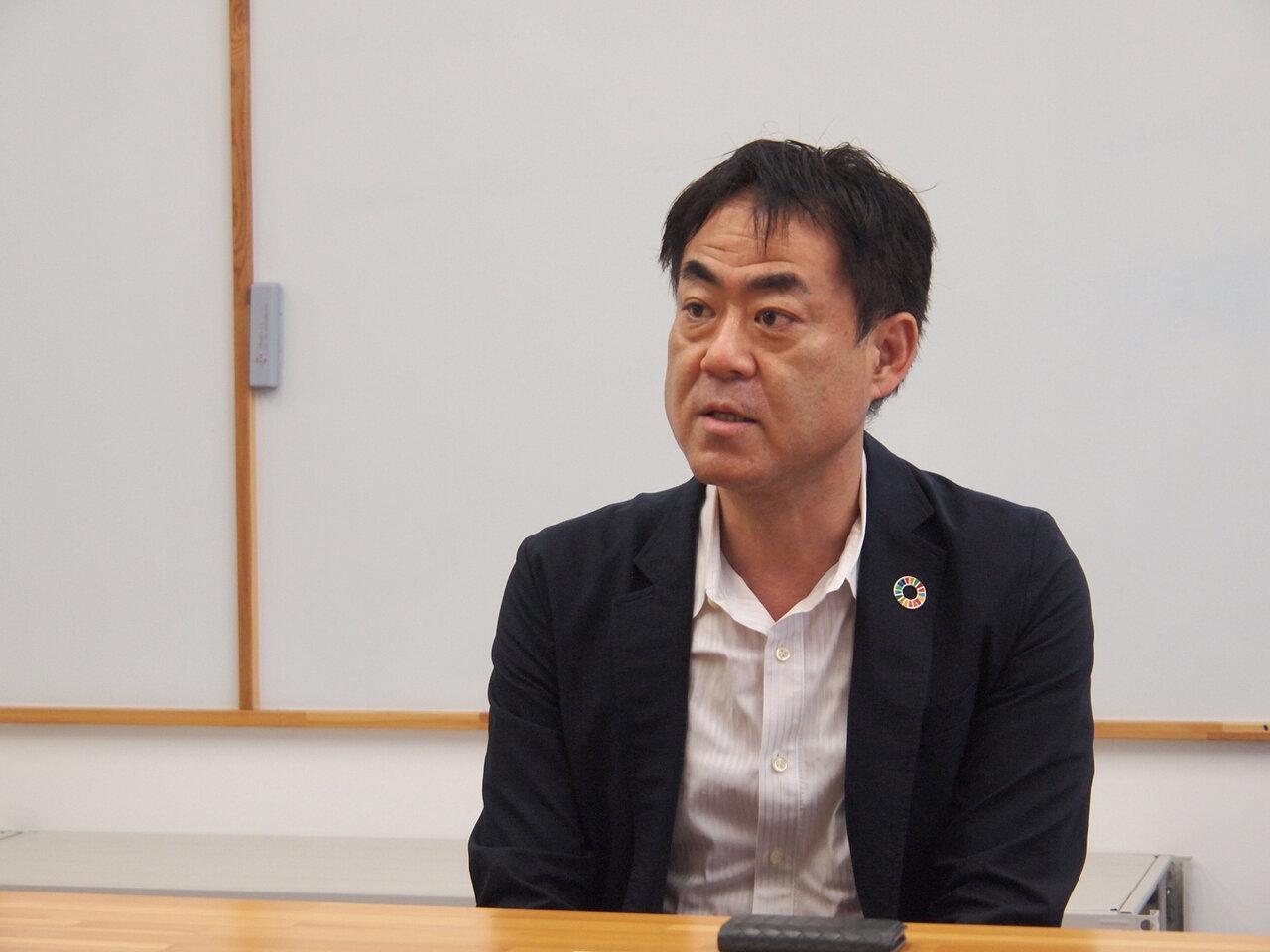 日本カーボンマネジメント株式会社代表取締役社長の佐々木譲さん