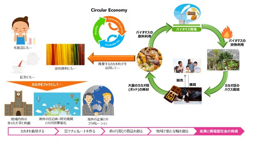 地域経済循環と共創ネットワークの拡大のイメージ