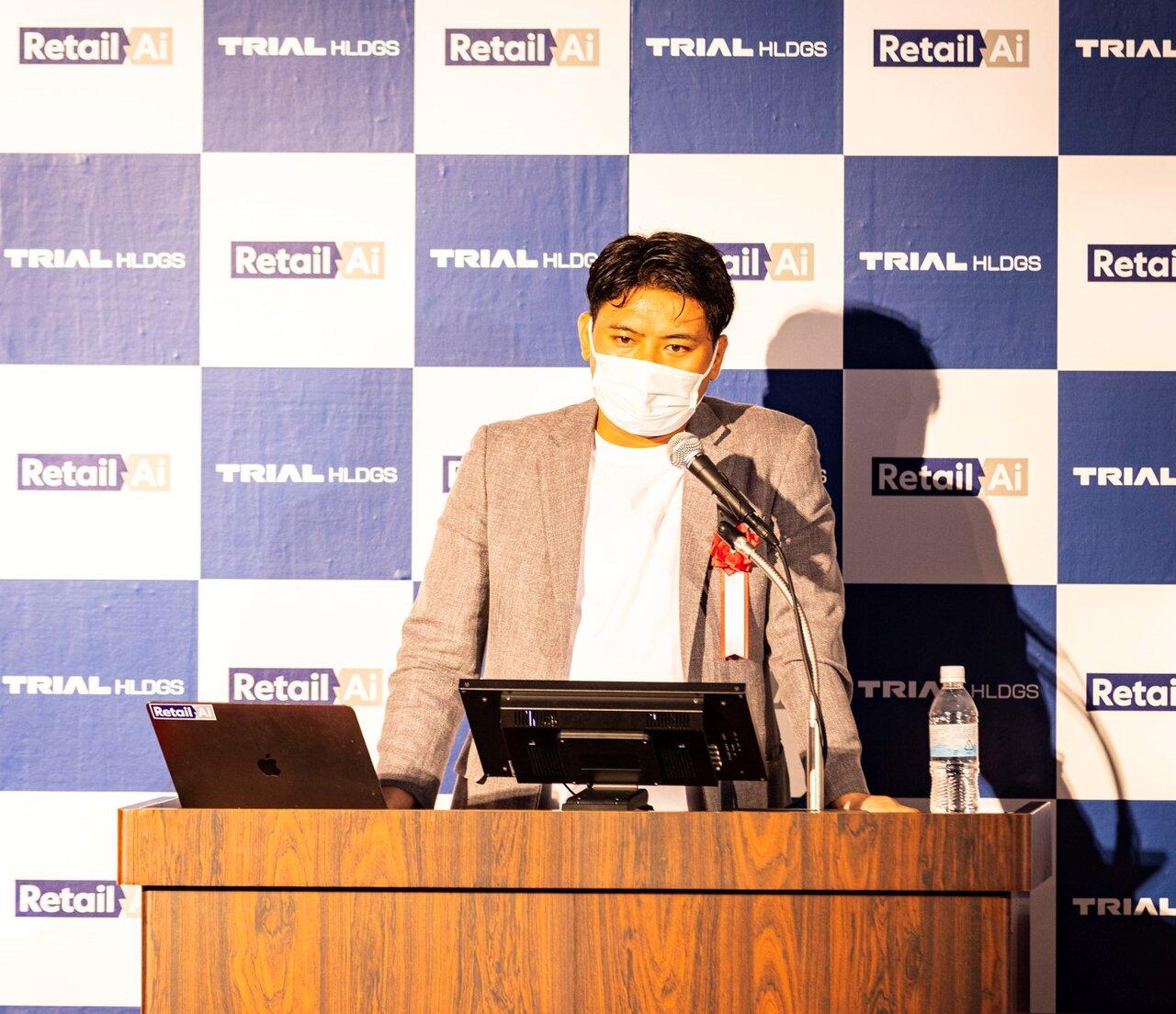 株式会社Retail AI 代表取締役社長 永田洋幸よりプレゼンテーション