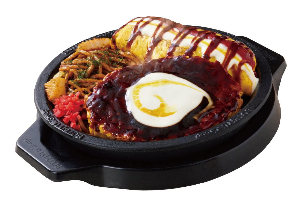 食べ比べ「元祖2色とん玉」やっぱ好っきゃねんセット 1,280円(税別)