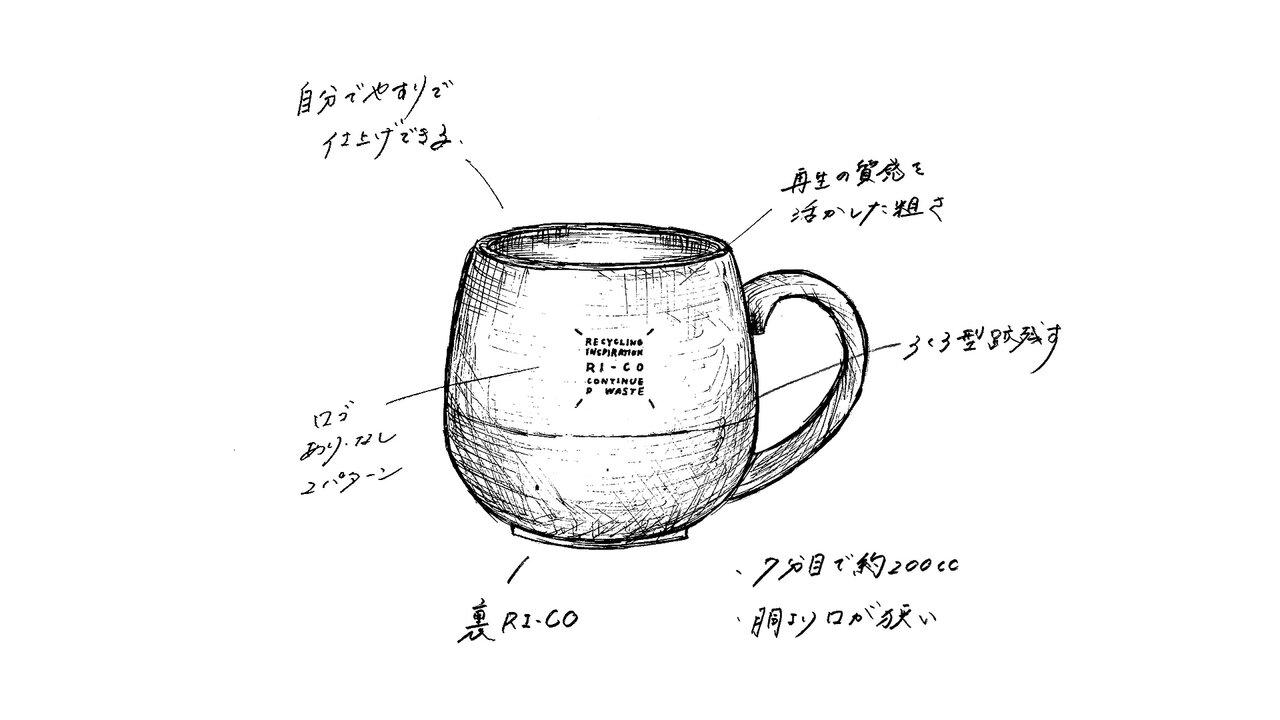 コーヒーを楽しむ機能と素材感にこだわり