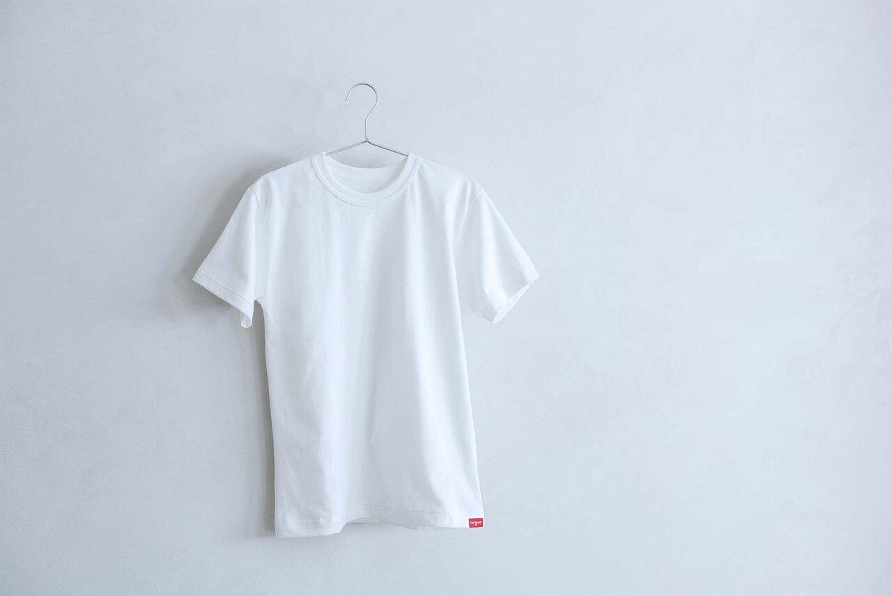 """""""水平リサイクル""""Tシャツ"""