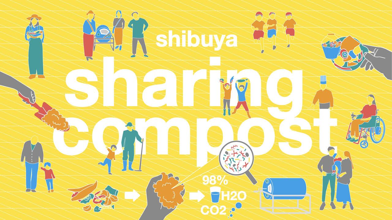 ※Shibuya sharing compostは実証事業における仮称です。