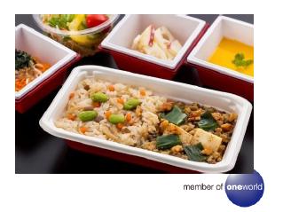 メインディッシュ「豆腐の油焼きとうまみ鶏肉味噌  五目御飯添え」:成田陽平シェフ監修