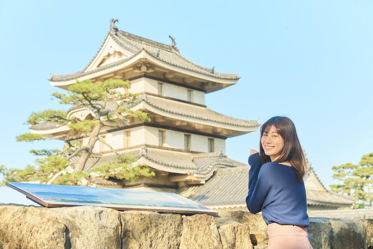 高松城跡の月見櫓