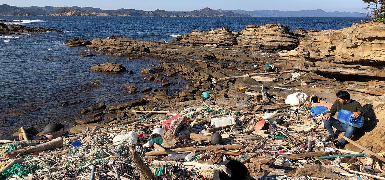 対馬の海洋環境を守るために。日本サニパックの挑戦