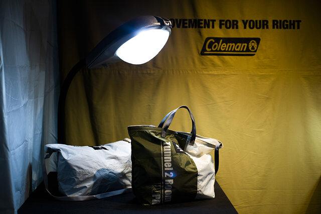 廃棄になるテントやシュラフを 新しい商品に生まれ変わらせる 「コールマン」の新プロジェクト「MFYR」とは。