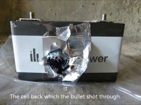 A bullet proof test: how safe ELIIY Power's Lithium-ion battery cell is