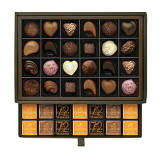 高級チョコレートの先駆けとして、世界中で愛され続けてい...