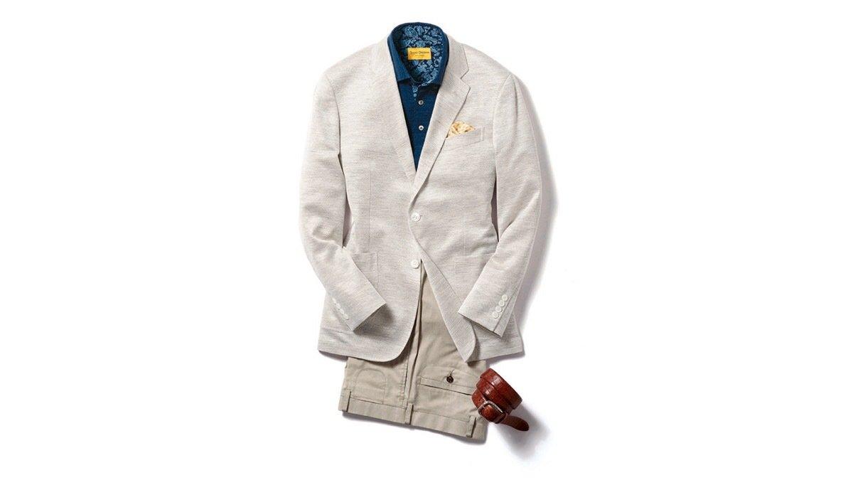 夏でも心地よく羽織れる 「ヒッキー・フリーマン」のジャケット