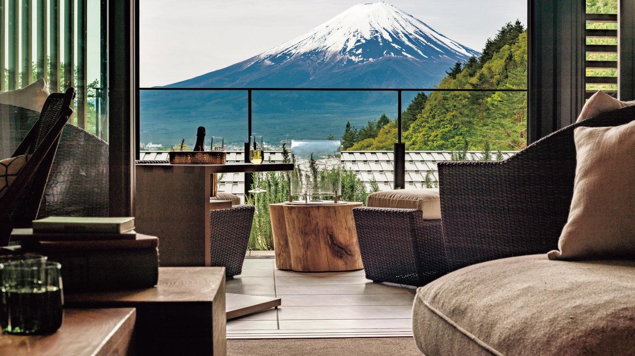 【ホテル】富士山の見える河口湖に料理と温泉が超最高な スモールラグジュアリーがオープン!