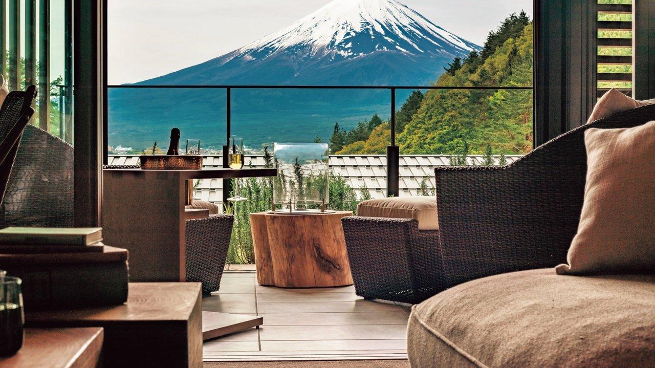富士山が見えて、森に囲まれた待望のスモールラグジュアリーふふ河口湖がいよいよオープン