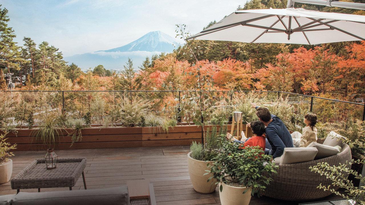 [温泉・富士山]家族みんなで富士山で開運!