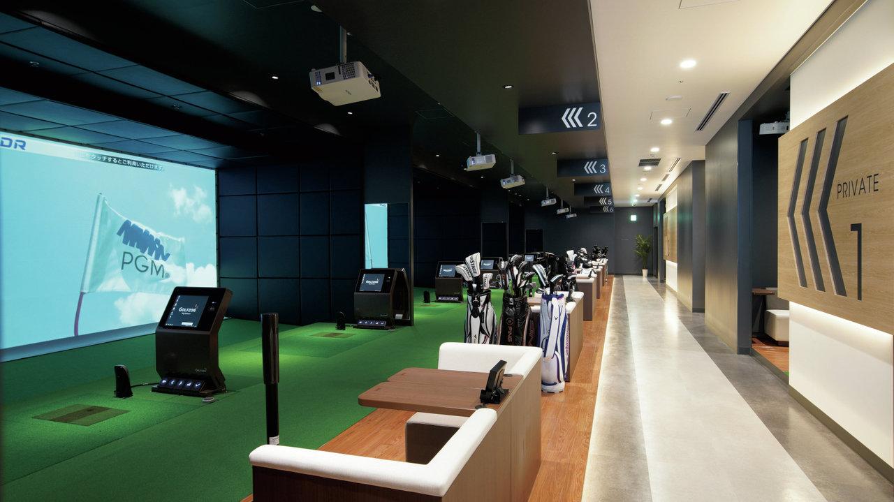 [ゴルフ]東京・銀座のど真ん中に なんとシミュレーションゴルフが!?