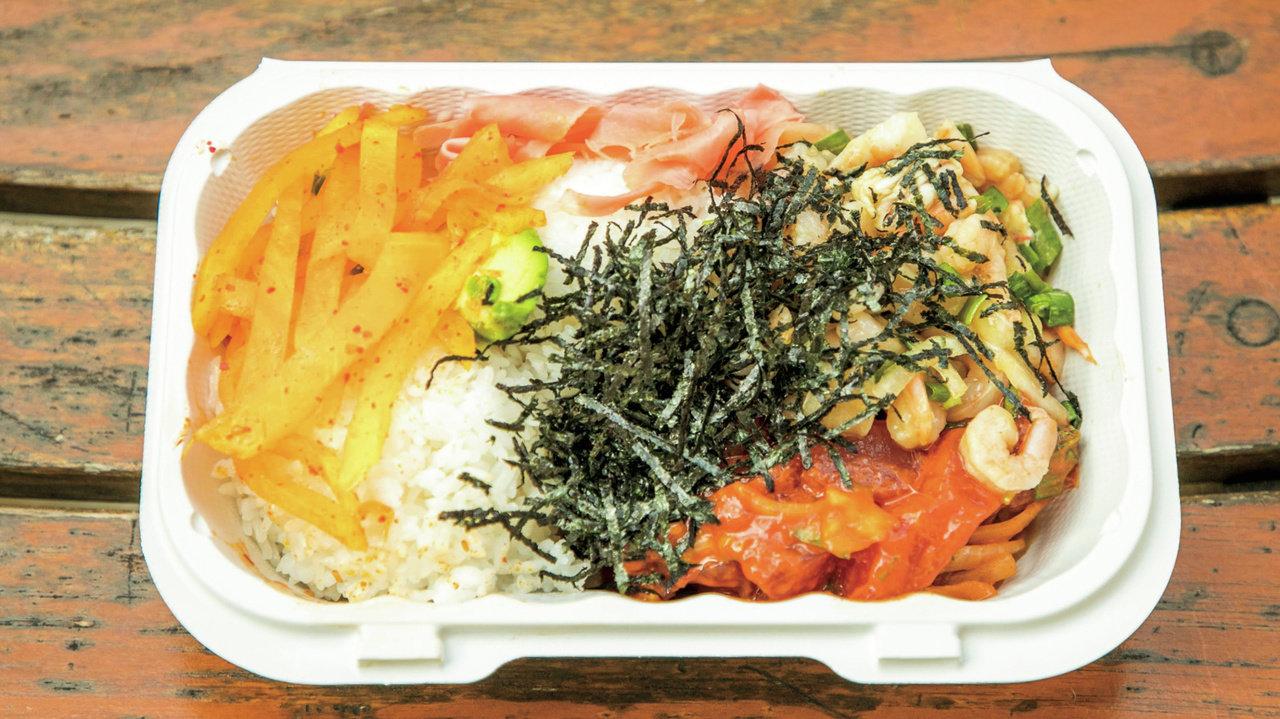 """[ハワイ]みずみずしい野菜を加えた""""ヘルシーポキ""""が新しい"""