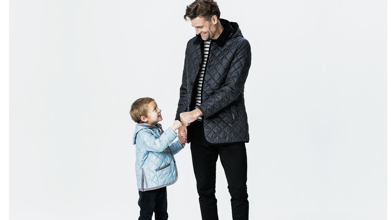 [親子コーデ]週末は親子おソロ ラベンハムのコート