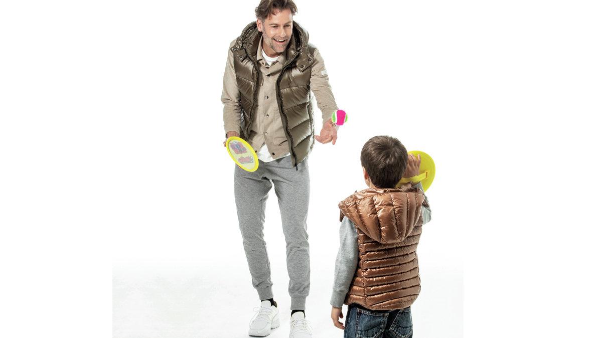 [ファッション]街着にぴったりな春の親子ダウン