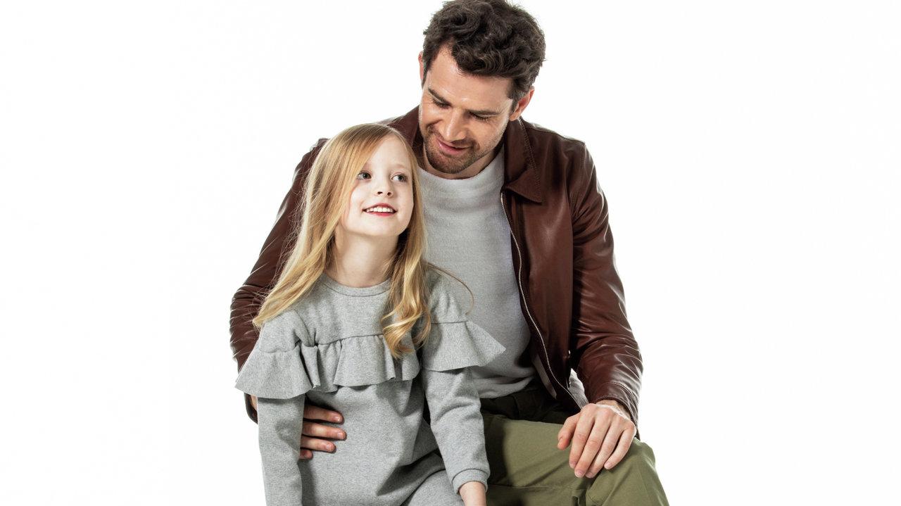 [ファッション:週末の親子スポカジ服]親子でシックに決めるなら白黒コンバースでしょ!
