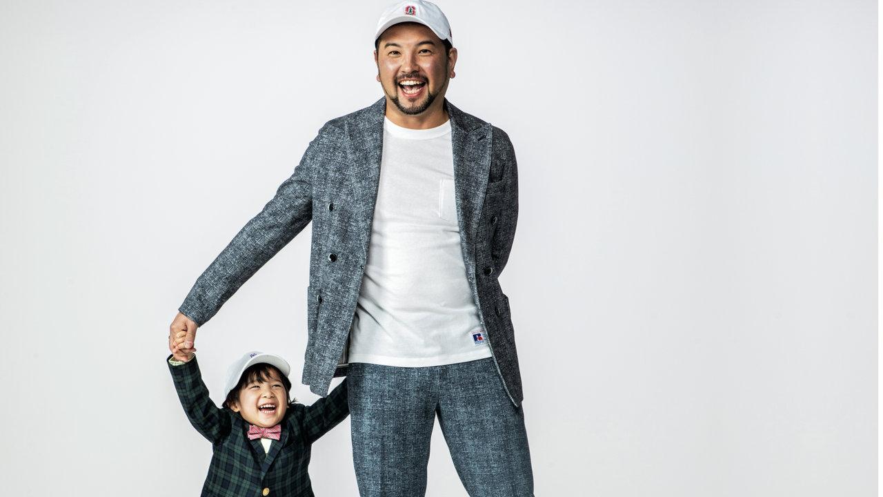 [ファッション]お洒落パパ改造講座:今、大注目のサウナーの本家本元パパの週末は親子でサウナー!?