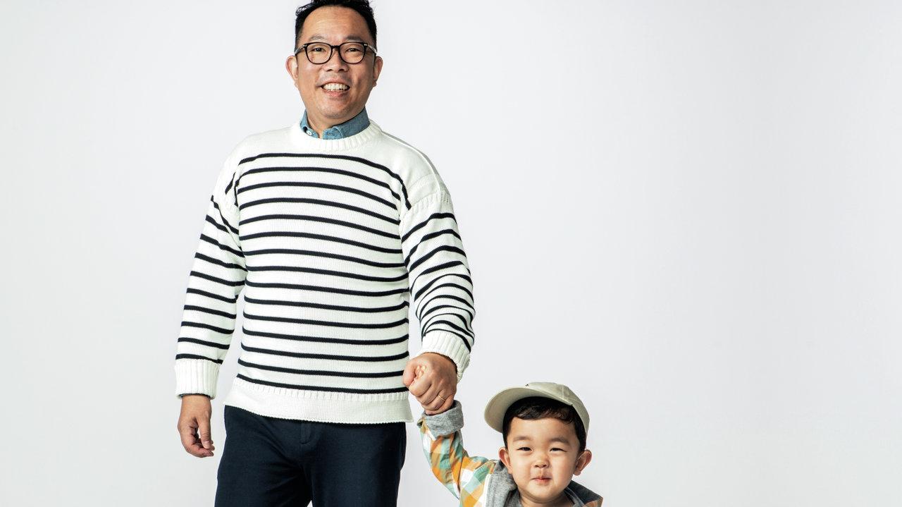 [ファッション]お洒落パパ改造講座:外資系パパのちょっとインターな親子週末