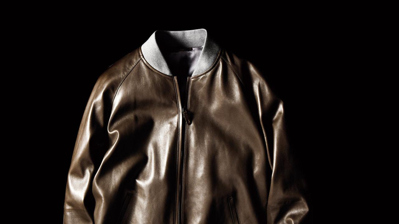 [ファッション]超やわらかくて着やすい!ザ・ベルルッティなレザーブルゾン