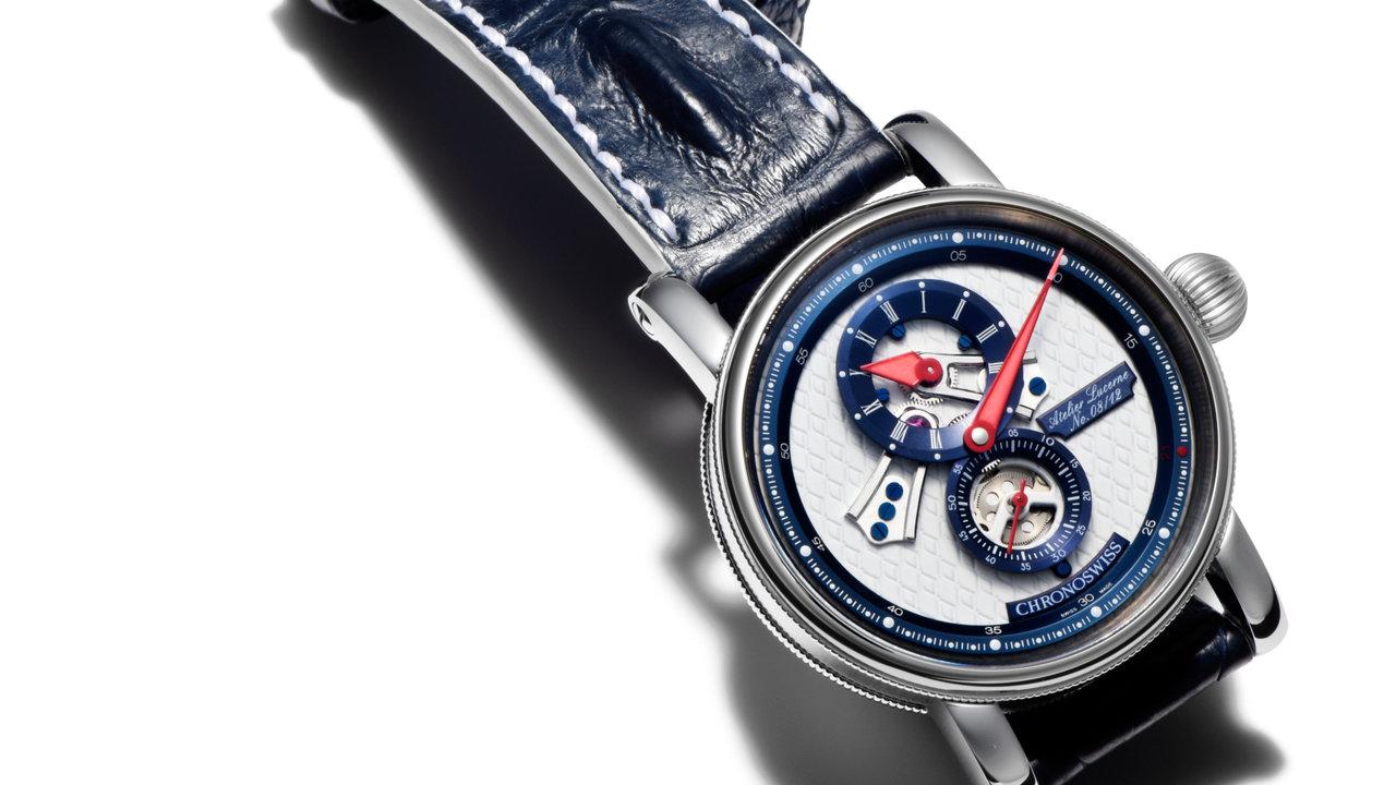 [時計]青×赤の色使いで日本代表選手をリスペクト