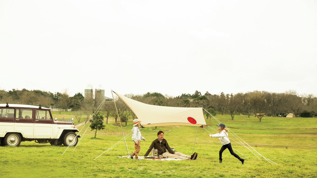 [アウトドア]日差しが強い季節のピクニックにタープテントのすすめ