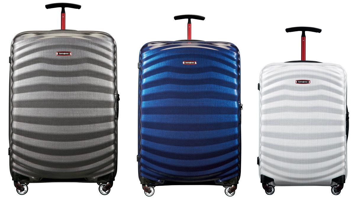 [ファッション]サムソナイトの新作スーツケースは軽くて強くて格好いい!