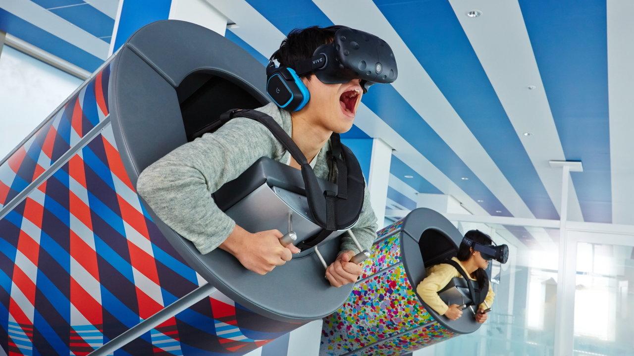 [レジャー]サンシャイン60の最上階の展望台は非日常体験な最先端VRに
