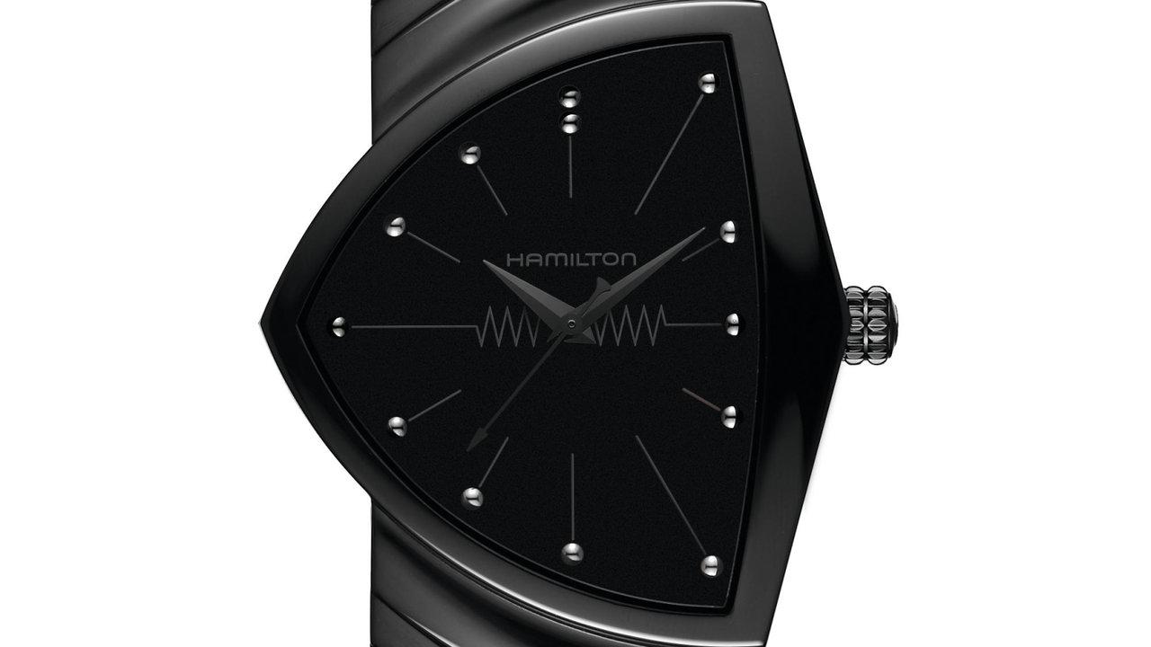 [時計]ハミルトンの「ベンチュラ」に待望のフルブラックモデル発売