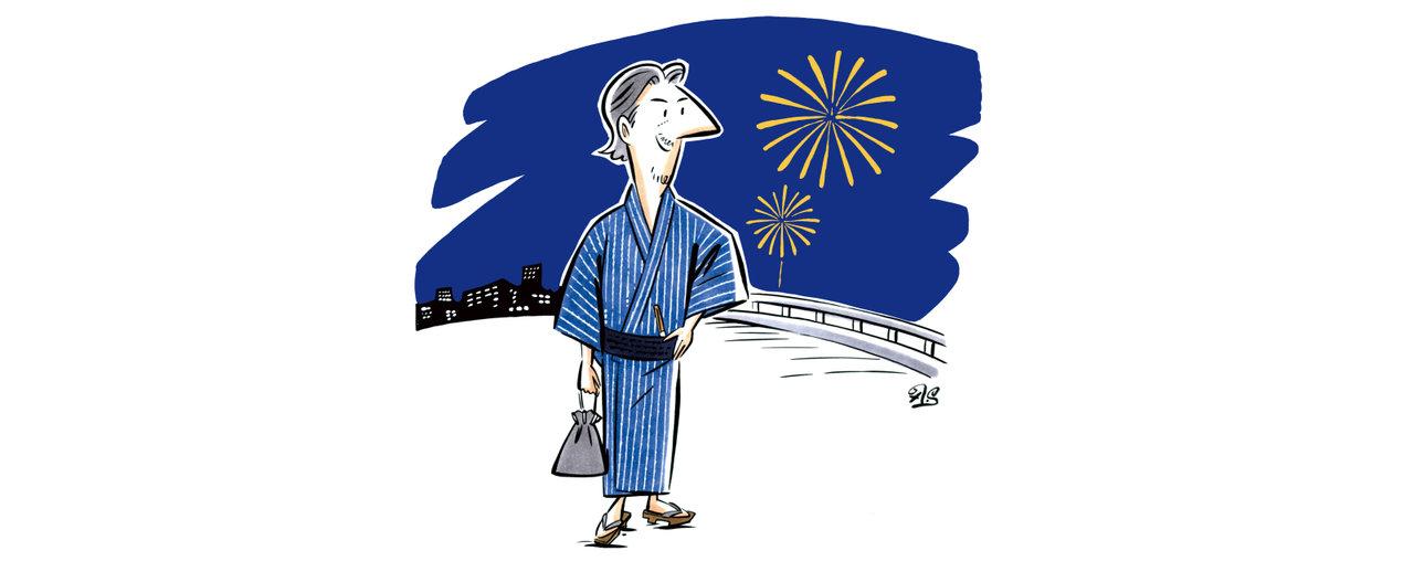 [ライフ]九島辰也のFrom EDITOR:浴衣とボルボと日本の夏