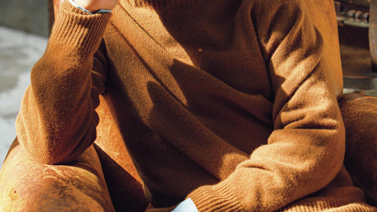 [ファッション]こんな上質なニットが秋に欠かせないアイテムなんです