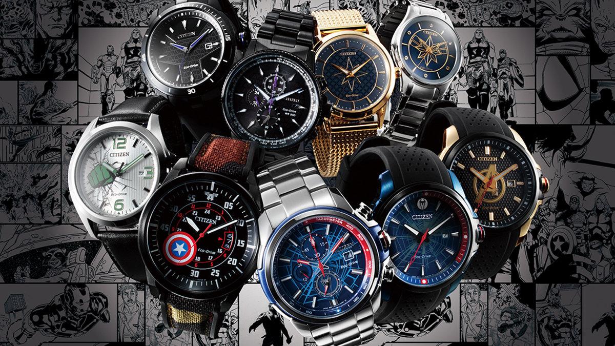 [時計]マーベルの人気キャラクターが腕時計になりました!