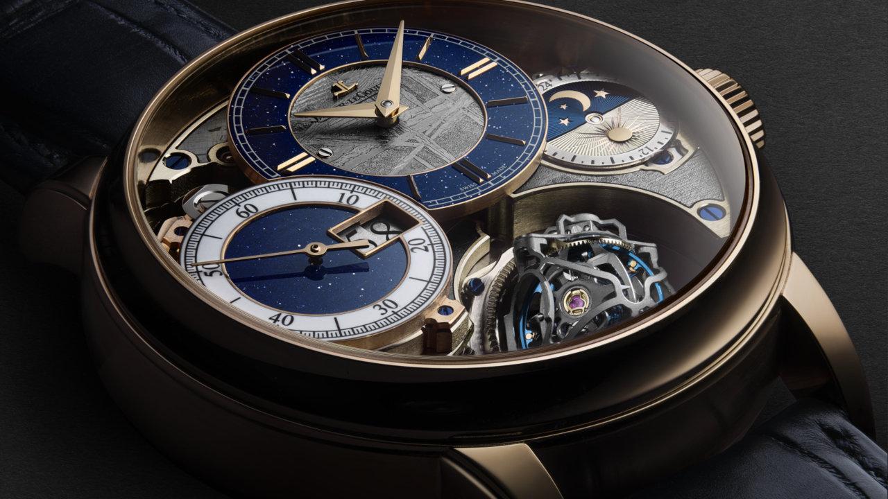 [時計]ジャガー・ルクルト、 ジャイロトゥールビヨン 3が発表