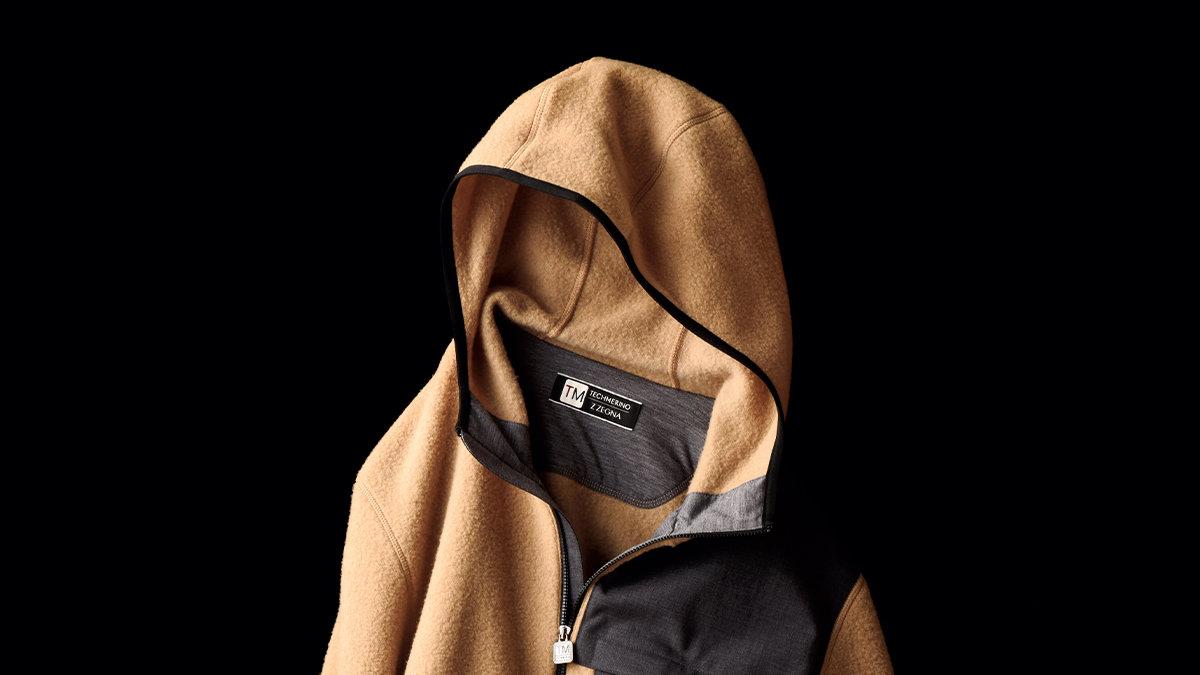 [ファッション]アウトドアテイストをうまく取り入れたジー ゼニアのフリース