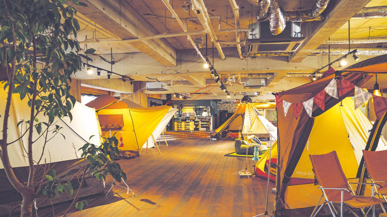 [グルメ]本格アウトドア料理を楽しめる東京のお洒落テントを貸し切り!
