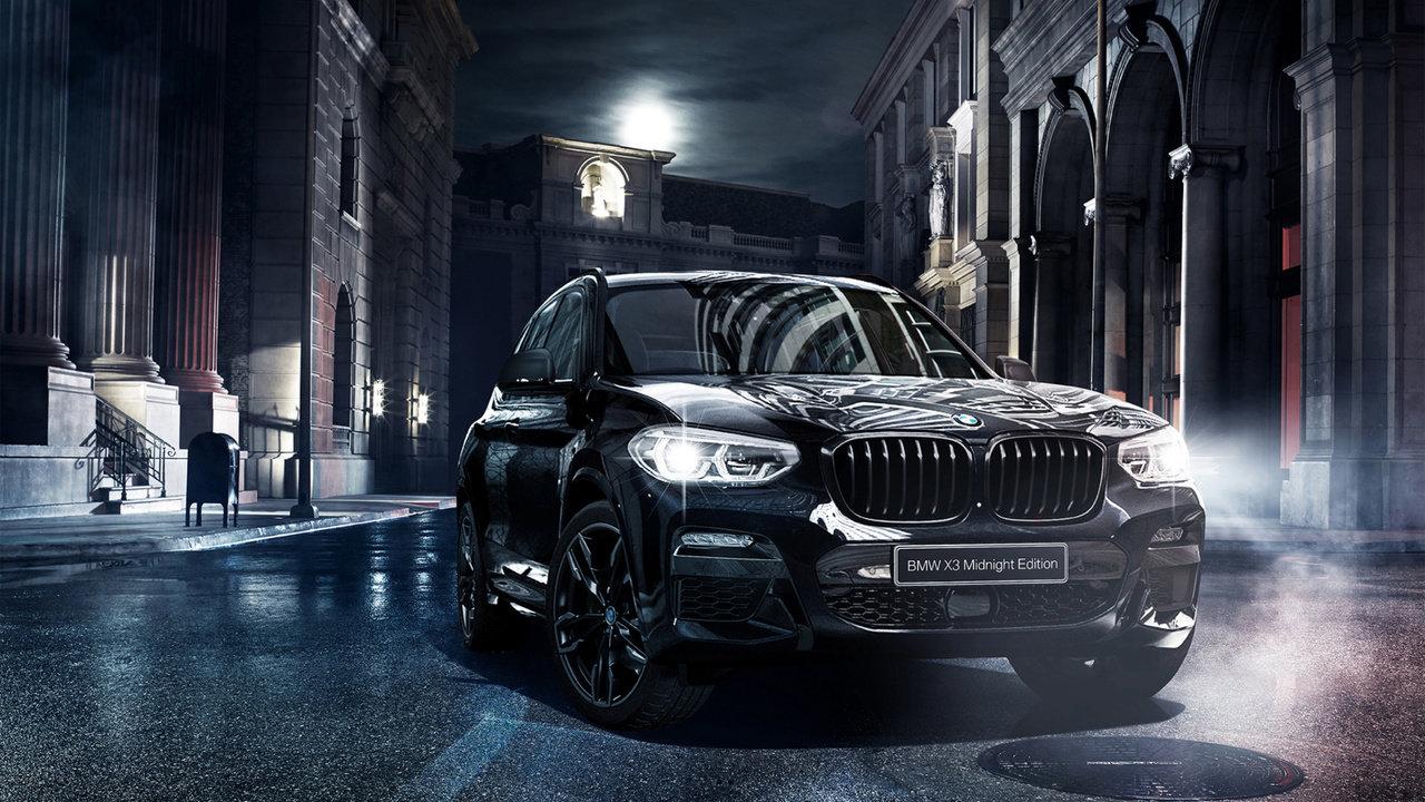 [クルマ]ナイト・ドライブをコンセプトにしたBMW X3 MIDNIGHT EDITION発表
