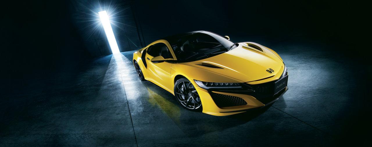 [CAR]ホンダNSX、2020年モデル受注開始、新色インディイエロー・パールII追加
