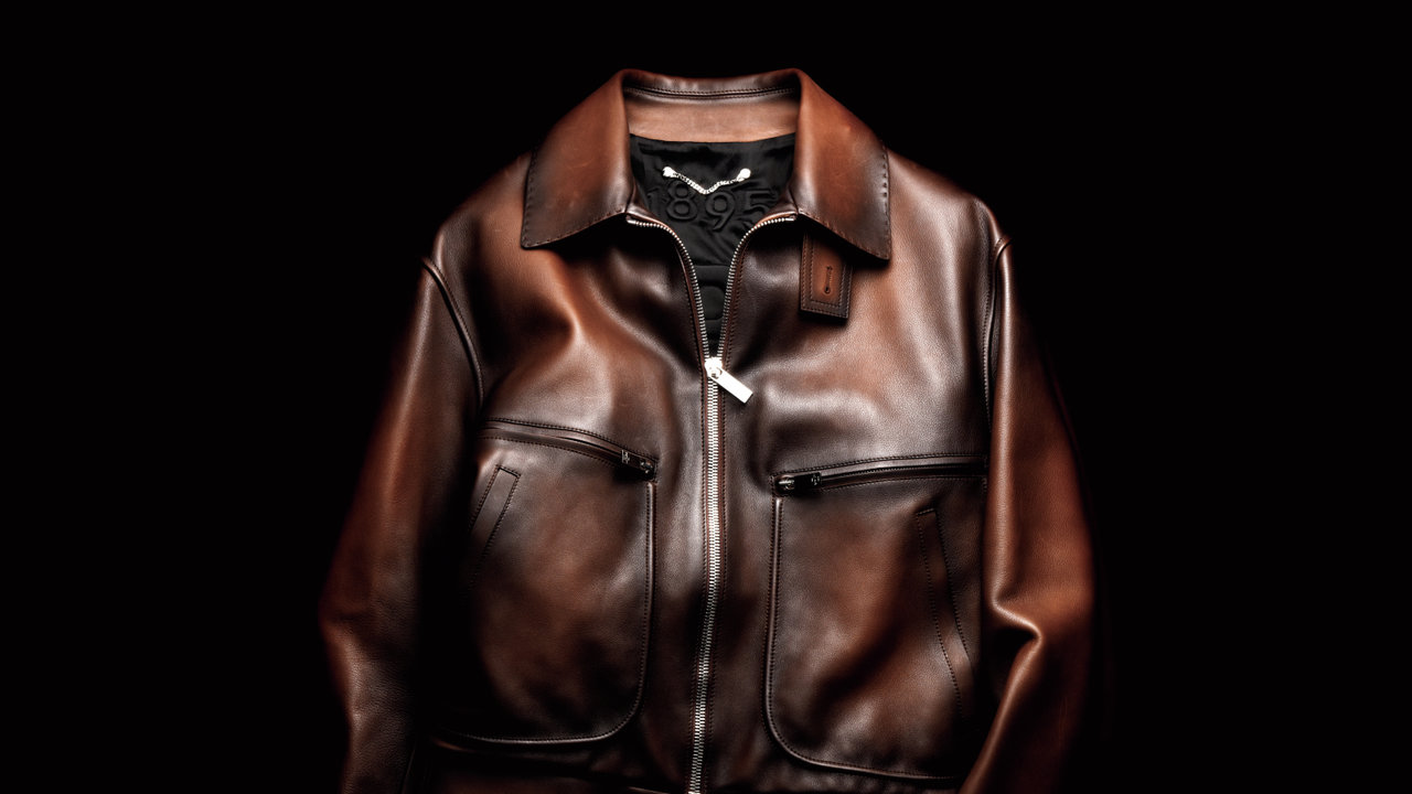 [FASHION]ベルルッティのレザーブルゾン「マデュロ世代なら大人らしいデザインのものが鉄則」