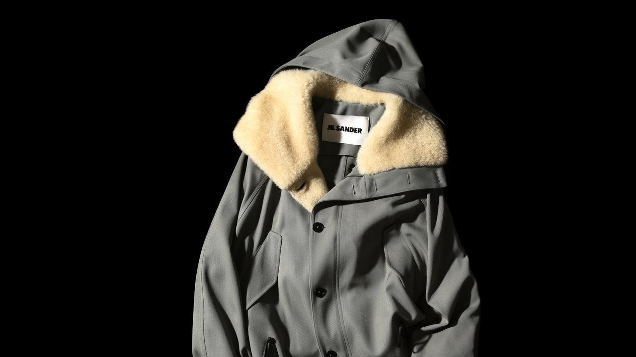 [FASHION]ジル サンダーのサラッと羽織れるコートは役立ち度大!