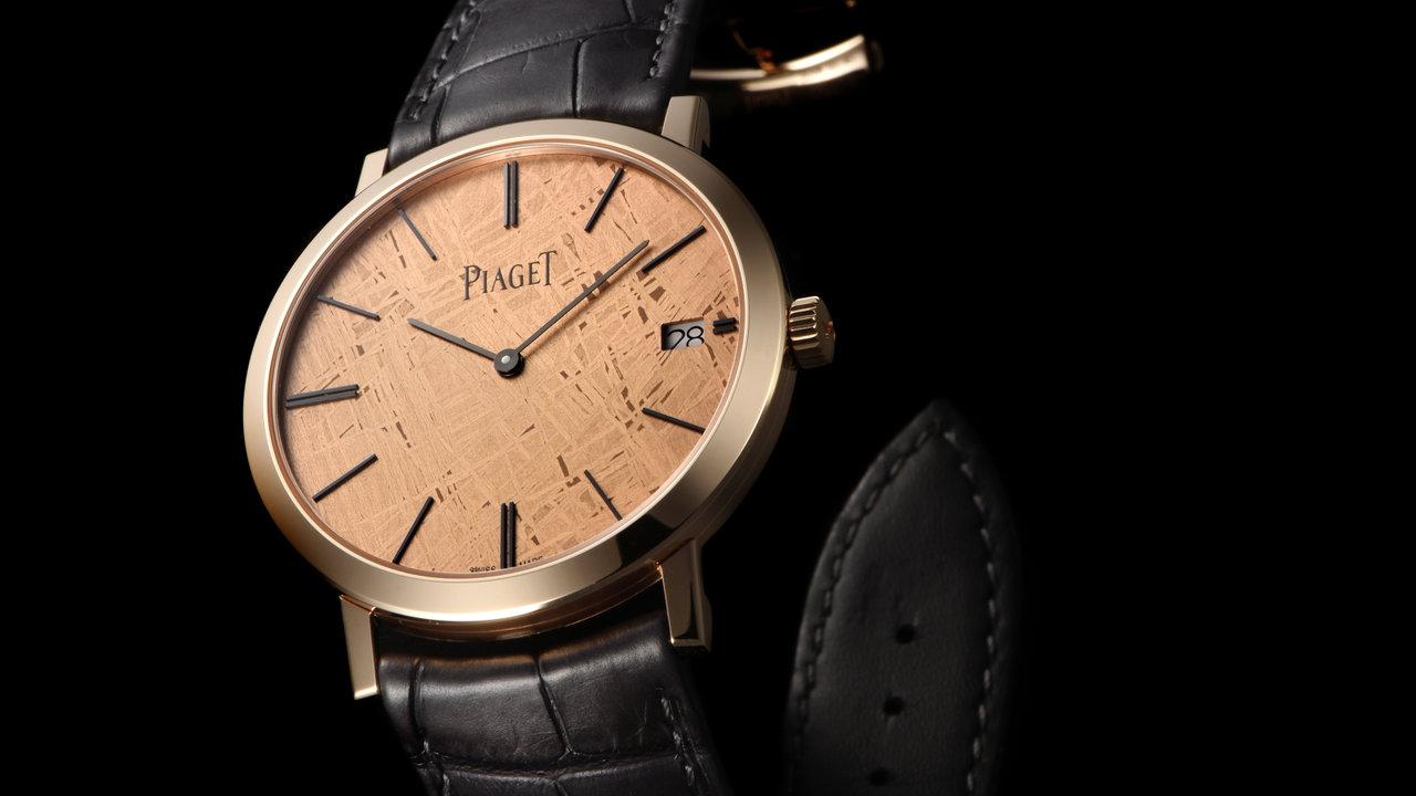 [FASHION]ラグジュアリーな超極薄時計といえば、ピアジェのアルティプラノ